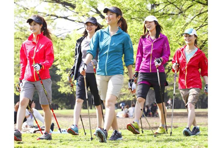 アンドウスポーツ主催 ノルディックウォーキング体験会in保土ヶ谷公園