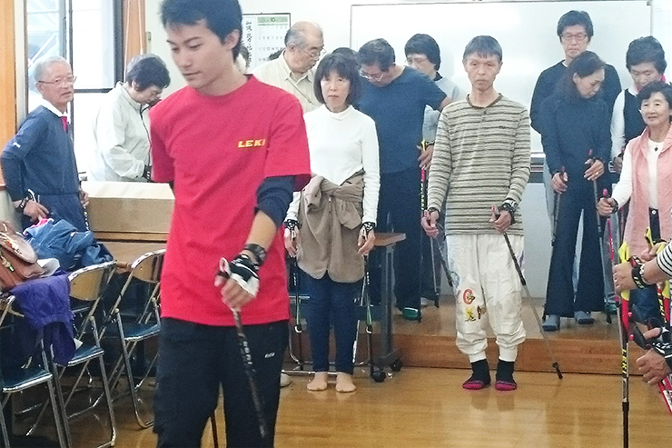 ノルディックウォーキング体験会in保土ヶ谷公園 開催報告!
