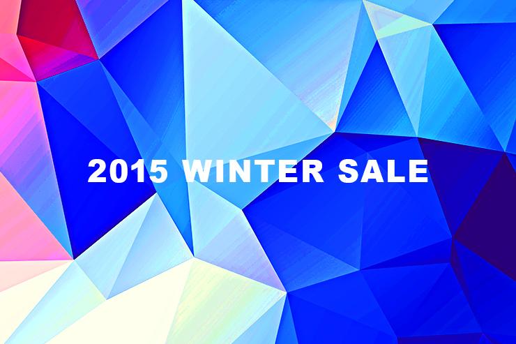 2015 ウインターセール開催!!12月5日(土)より