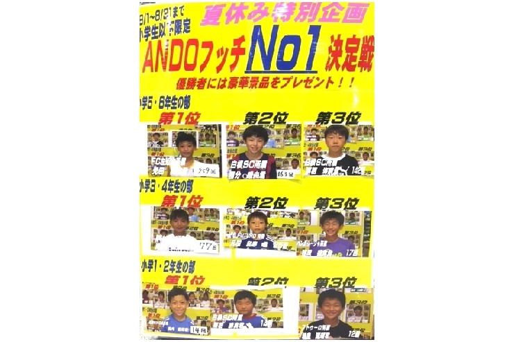 夏休み特別企画「ANDOフッチNO1決定戦」開催報告!!