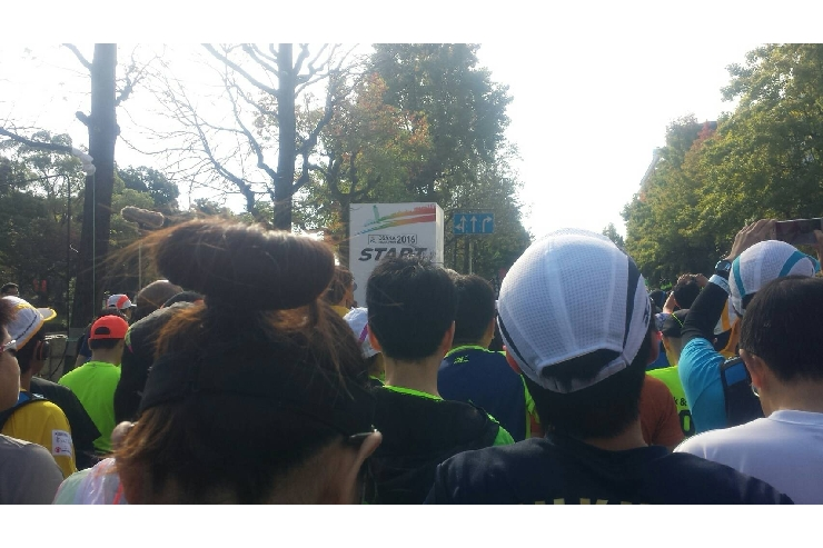 大阪マラソンに参加してきました!!