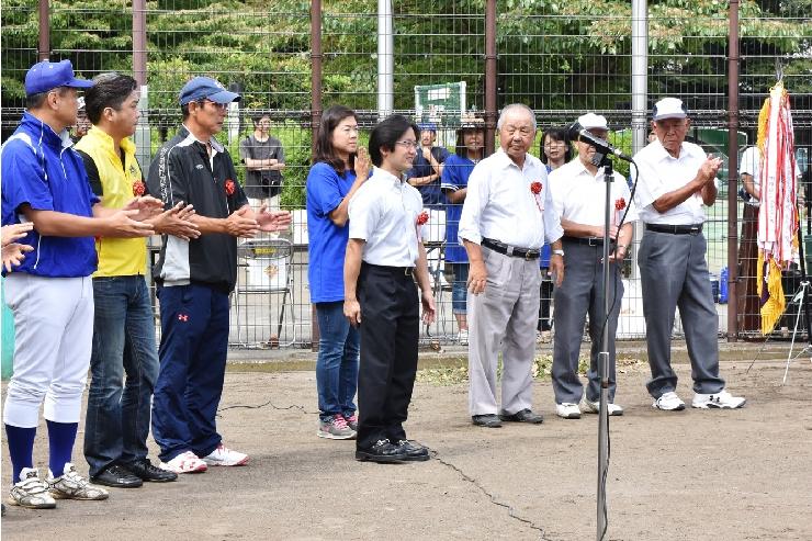 秋季保土ヶ谷区民少年野球大会 開会式