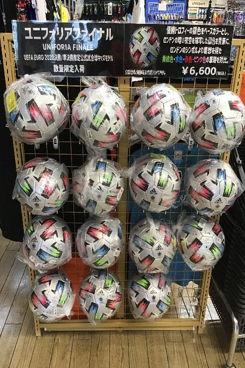 サッカーボール新商品
