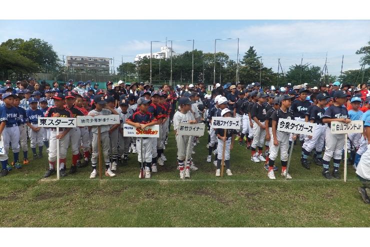 第34回親子ふれあいトスベースボール大会 開催しました!!